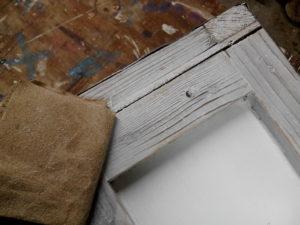 peindre caisse en bois