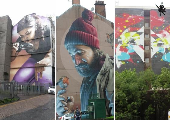 Street Art à Glasgow