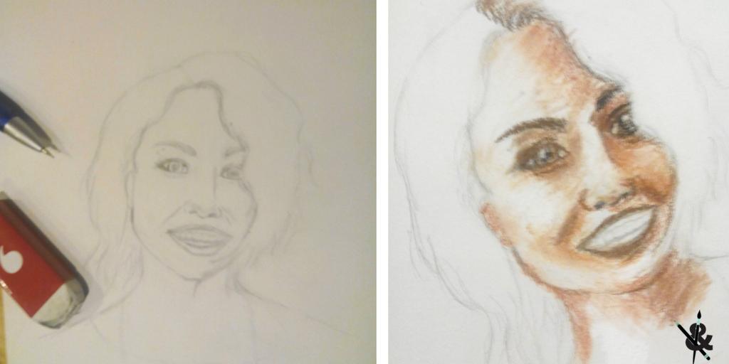 dessiner un portrait