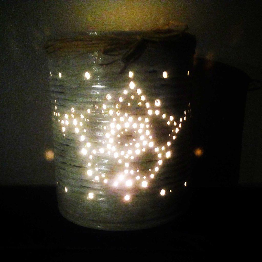 lanterne boite de conserve