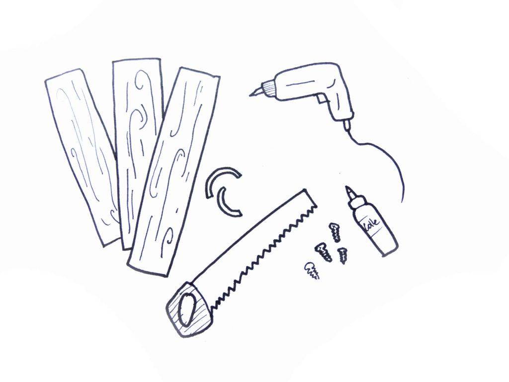 fabriquer plateau en bois