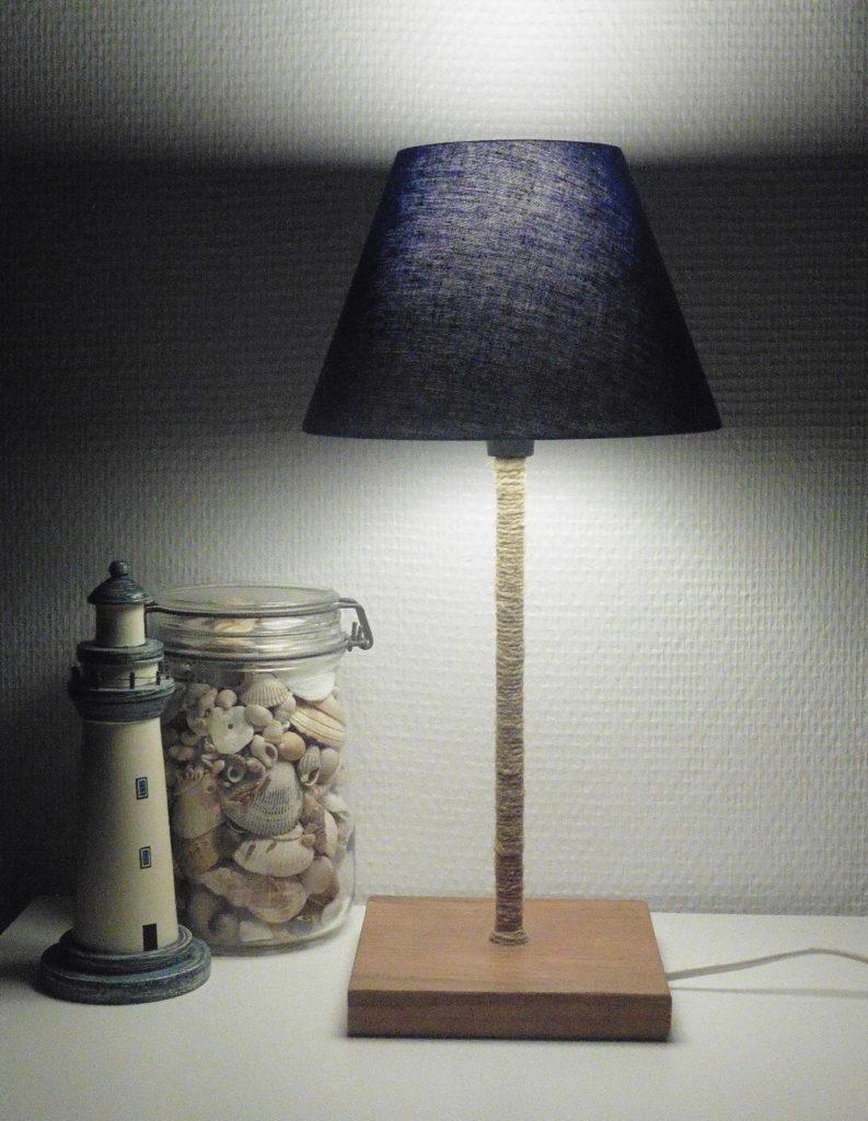 Fabriquer Une Lampe Style Industriel comment fabriquer une lampe de chevet - crayons & pinceaux