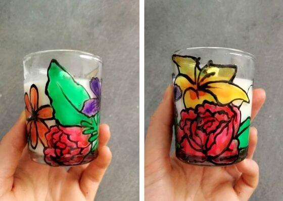 peindre du verre