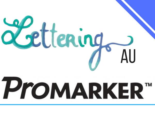 lettering au promarker