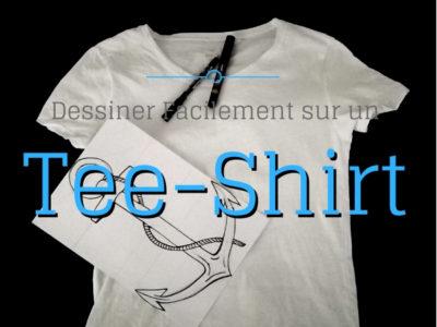 dessiner sur un tee-shirt
