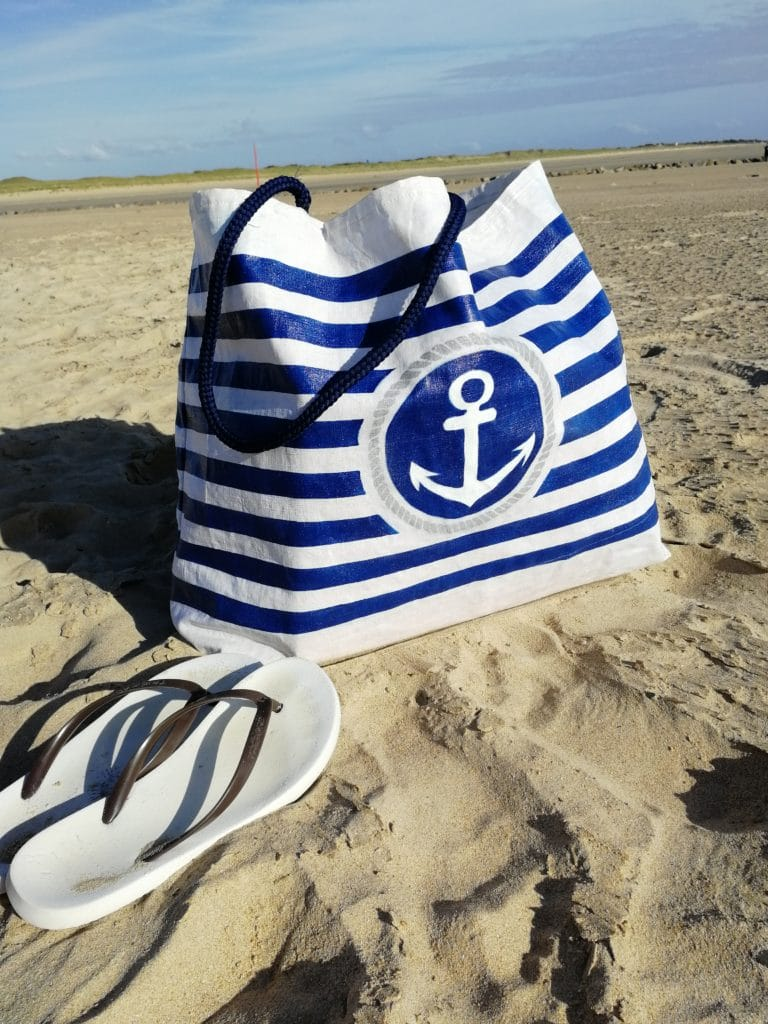 faire sac de plage imperméable