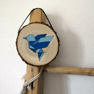 Kit DIY de peinture par numéro sur bois